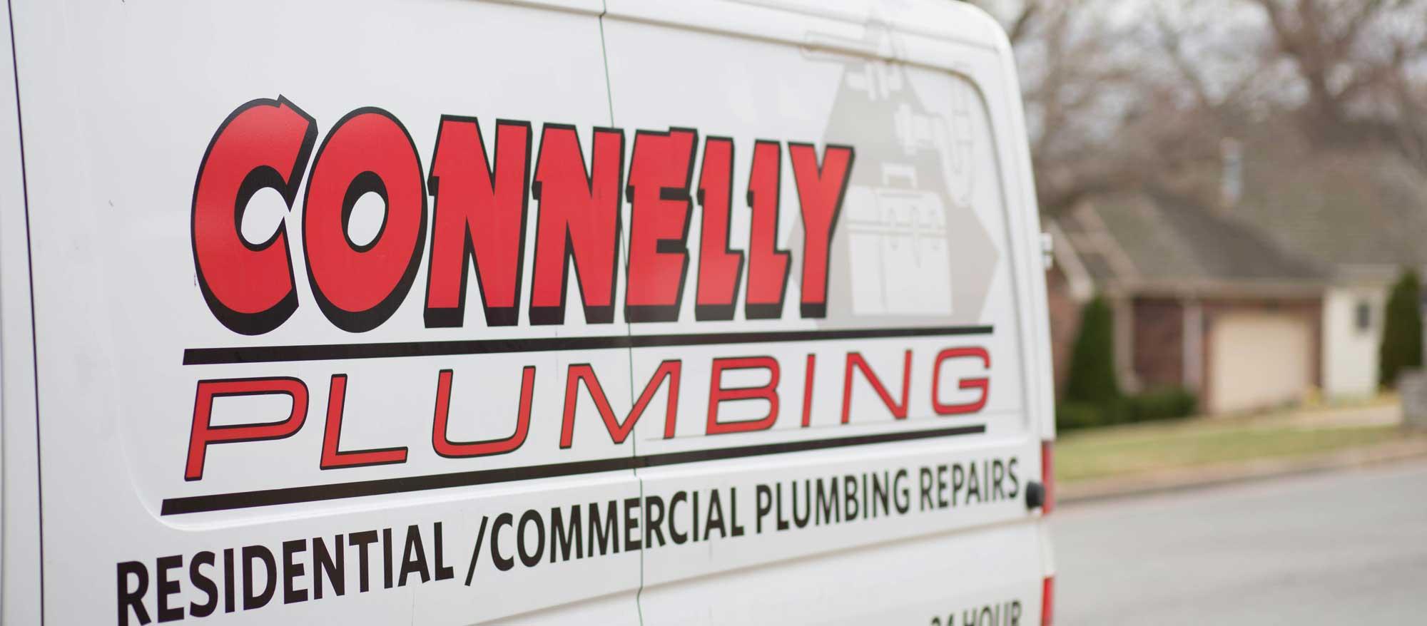 connelly plumbing van