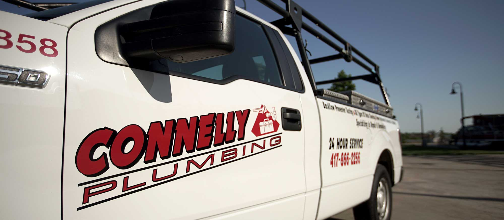 connelly plumbing truck