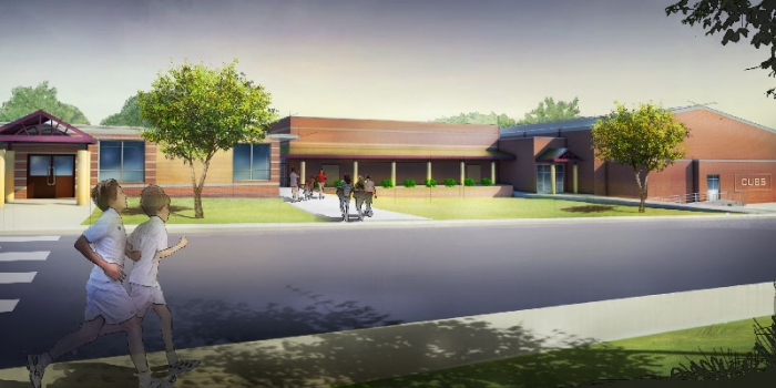 Image for Monett Middle School FEMA Safe Room and Cafeteria